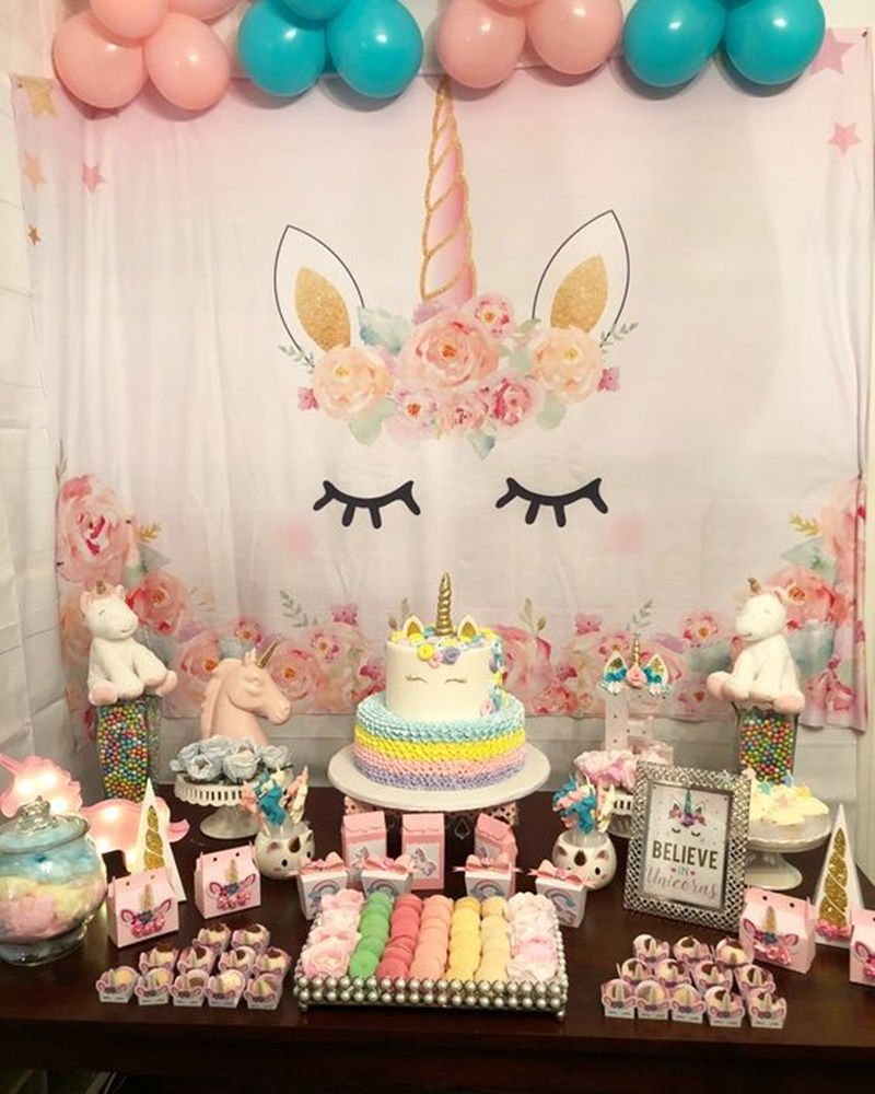 Festa Unicórnio Festa De Unicornio Unicorn Birthday Parties