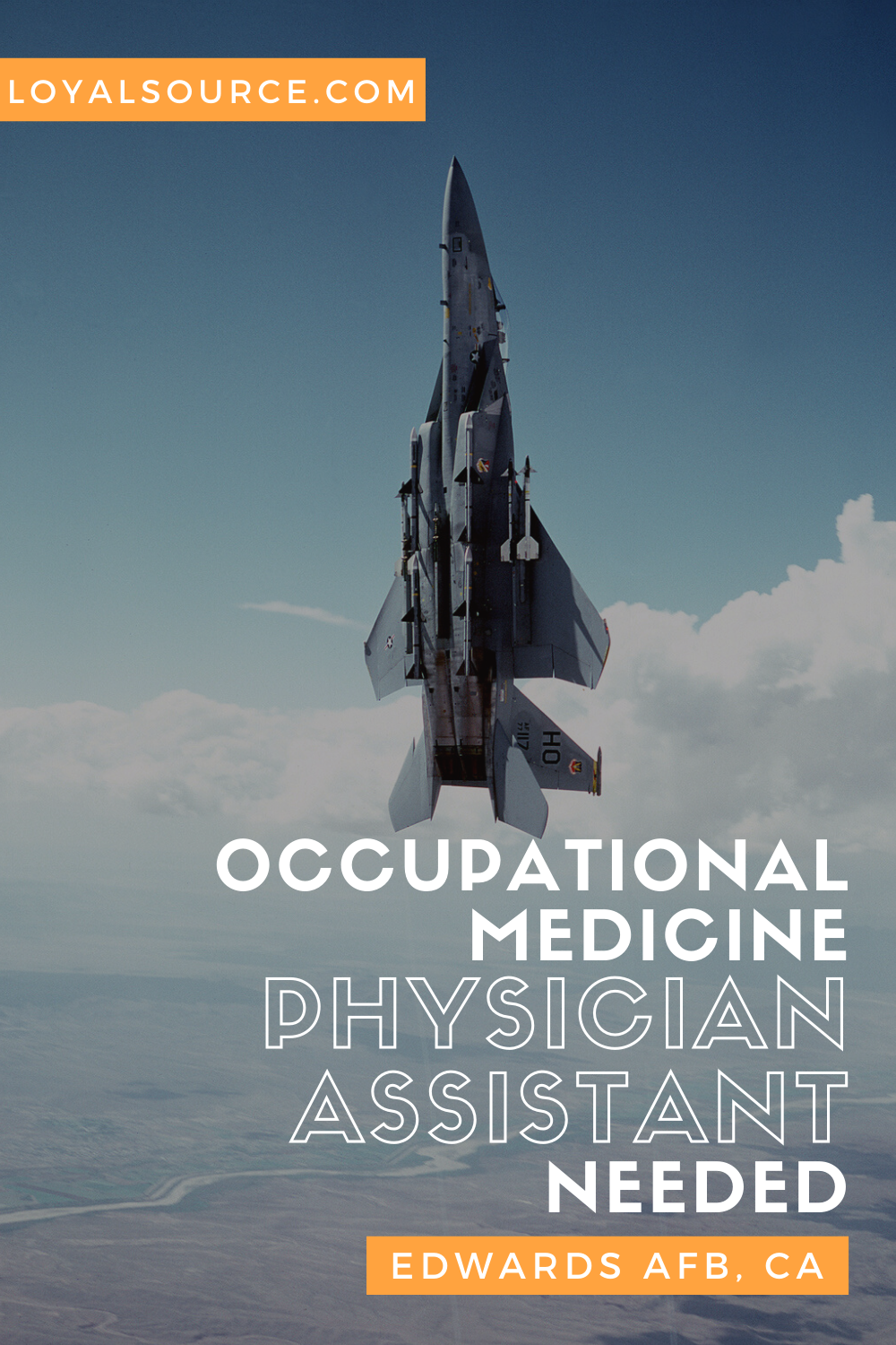 Physician Assistant Occupational Medicine Edwards AFB
