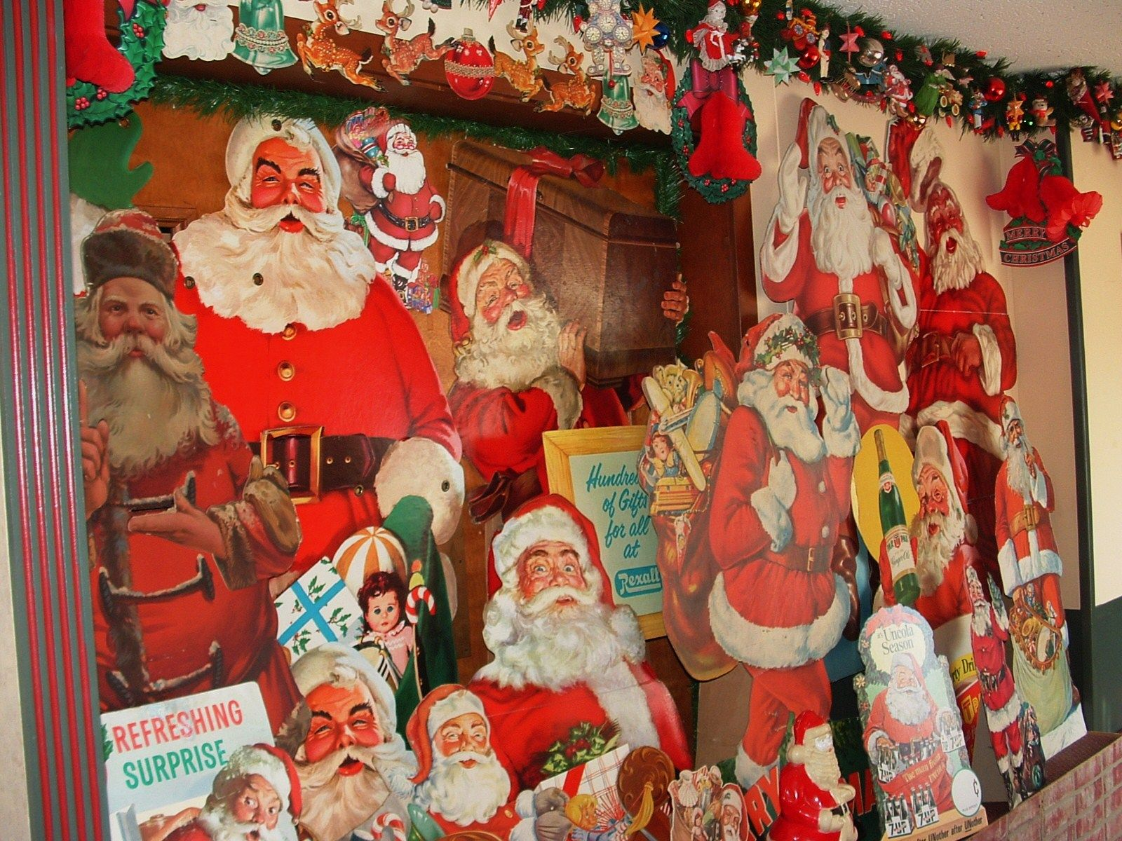 1950's Santas' from the National Christmas Center