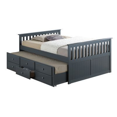 Superieur Broyhill Kids Marco Island Captainu0027s Bed With Trundle Bed And Drawers  Color: Gray, Size: Full