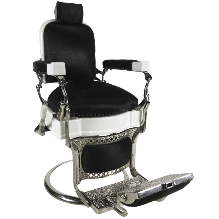 Good 1stdibs | Extraordinary Barberu0027s Chair By Ernest Koken