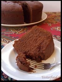Mexican Chocolate Buttermilk Pound Cake Recipe Cakes Pinterest