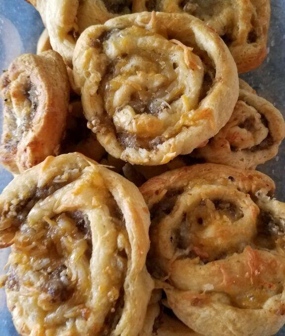 Sausage Pinwheels - Easy Breakfast Recipe #easysausagerecipes