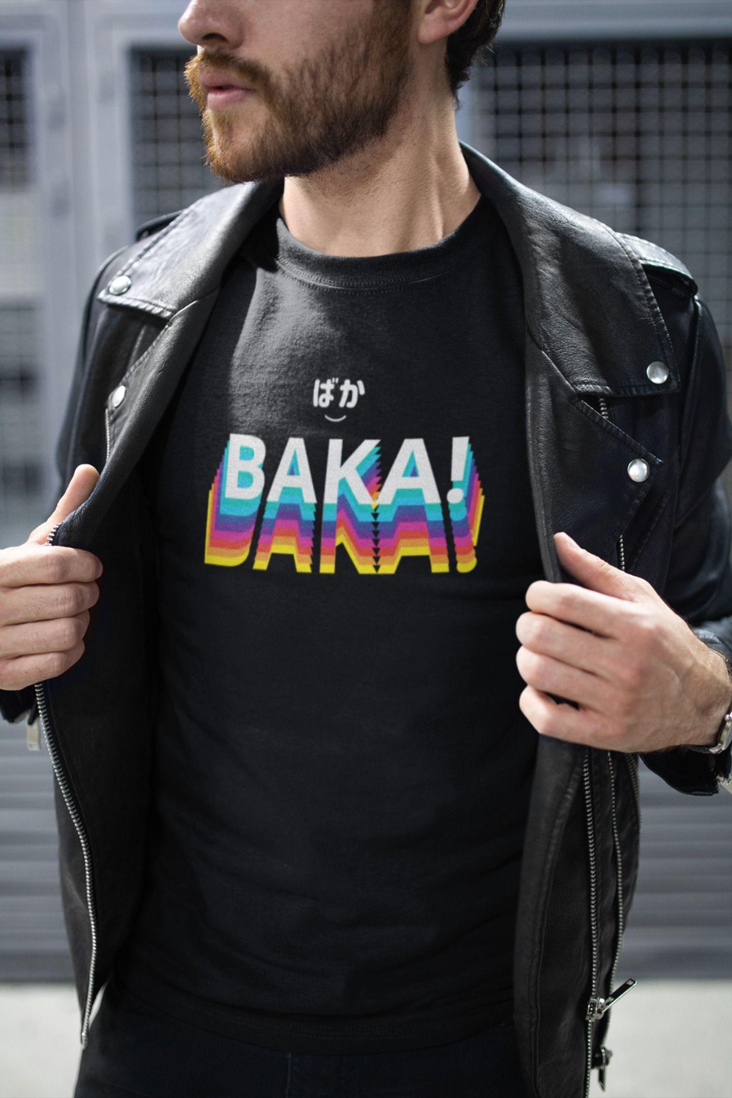 Baka shirt aesthetic shirts buy t shirts online anime