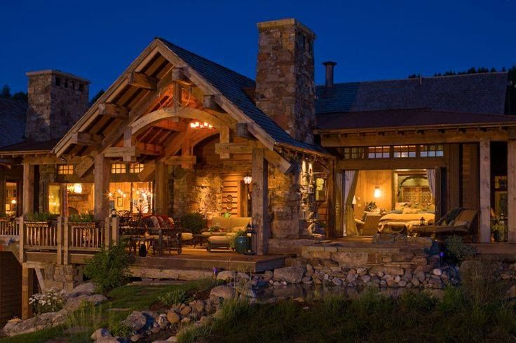 Beautiful mountain home houses pinterest best cabin for Mountain dream homes
