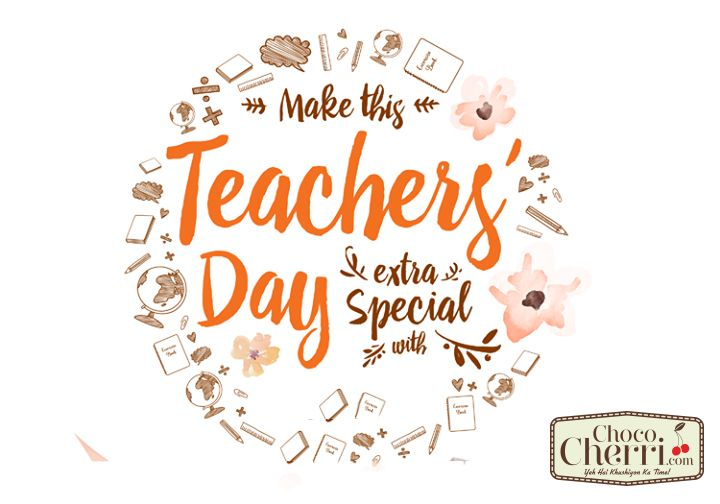 It takes big Heart to help shape little minds #Teacherday #Chococherri #Cakeinpatna
