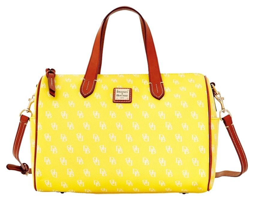 4b81719f9d87 Dooney   Bourke Olivia And Yellow Satchel. Save 54% on the Dooney   Bourke