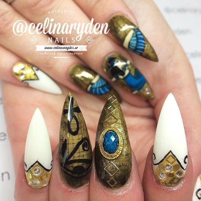 Stileto nails @KortenStEiN - Stileto Nails @KortenStEiN 10 Lil Lovely's Pinterest