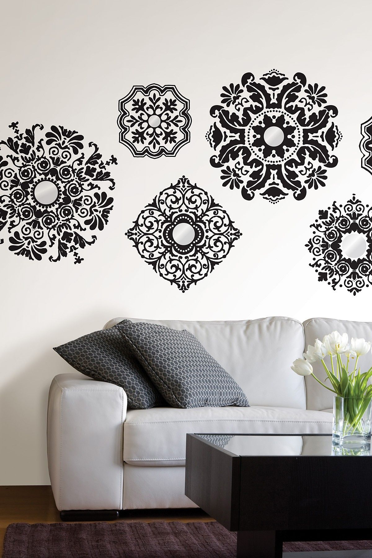 I have these exact ones in my house wallpops fun removable decals