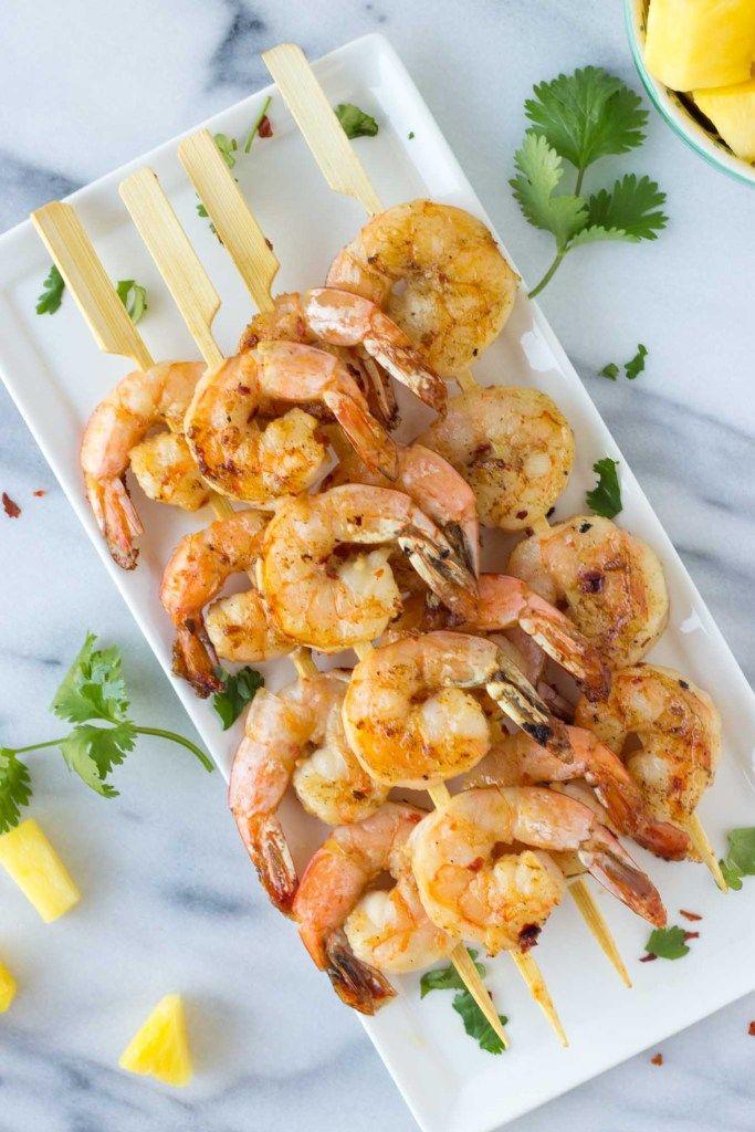 Firecracker Shrimp - a quick, easy, healthy dinner! | Fork in the Kitchen #firecrackershrimp