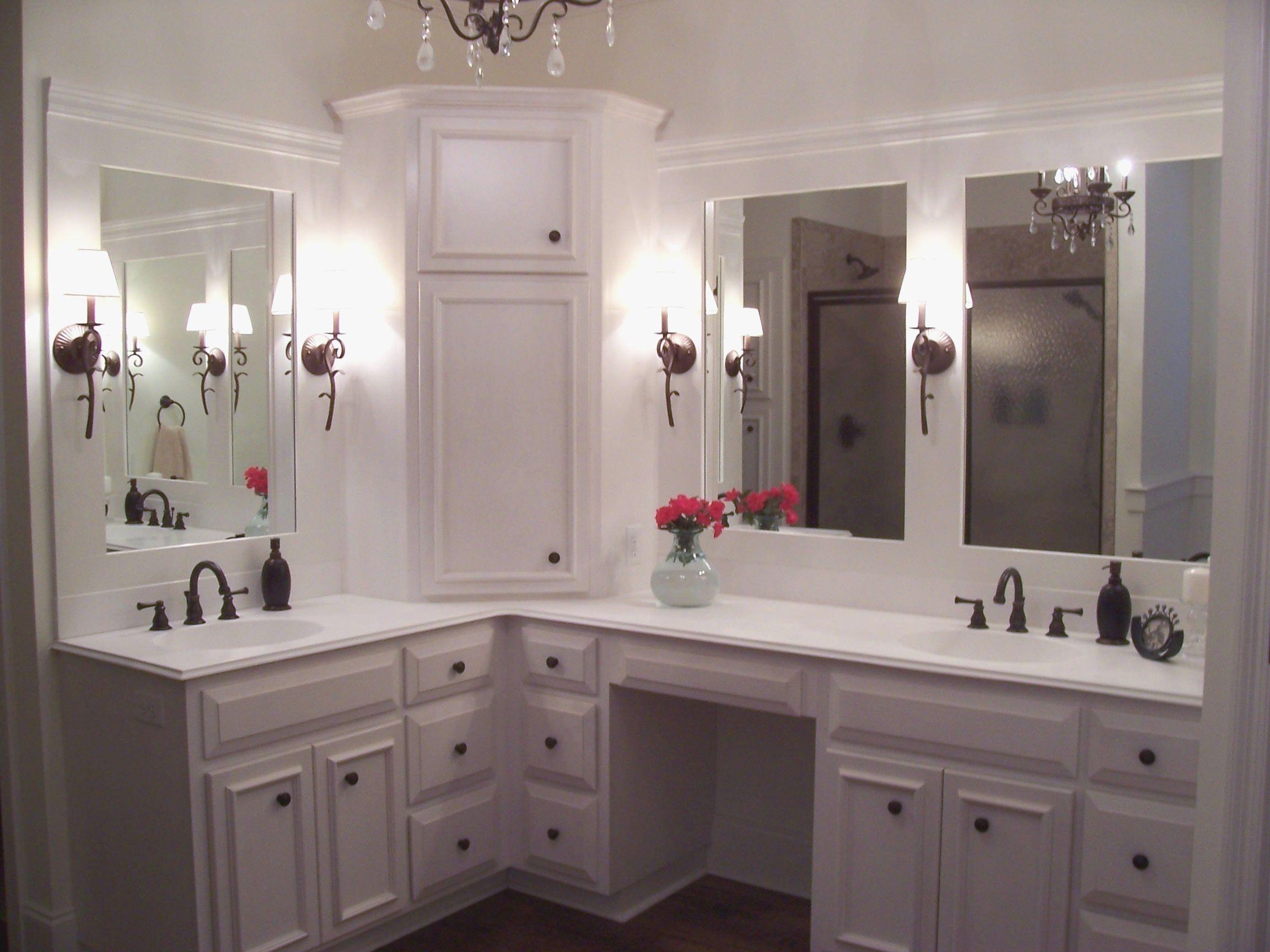 Custom Bathroom Vanities And Cabinets New Corner Bathroom Vanity