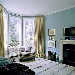 Yellow Curtains Blue Walls Can T Lose Blue Living Room Yellow Curtains Blue Walls