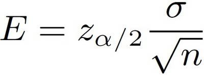 What Is the Margin of Error Formula for a Population Mean