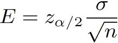 What Is The Margin Of Error Formula For A Population Mean Formula Math Formulas Statistics Formulas