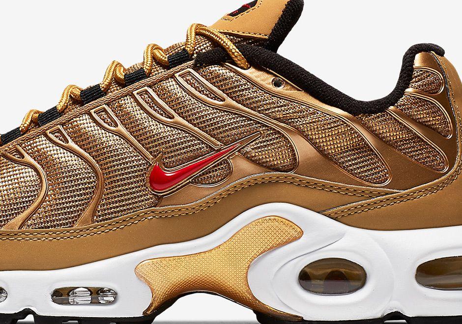 Nike Air Max Plus Metallic Gold Release Date 887092 700
