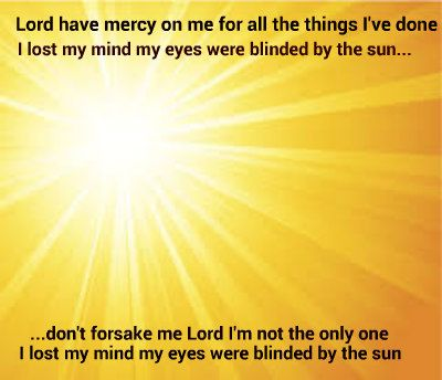Lyrics Everlast Blinded By The Sun Everlast Blinds
