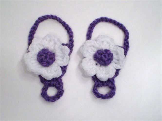 Two Cowgirls Jewelry - Crocheted Baby Shoes - Odessa, TX | Creative ...
