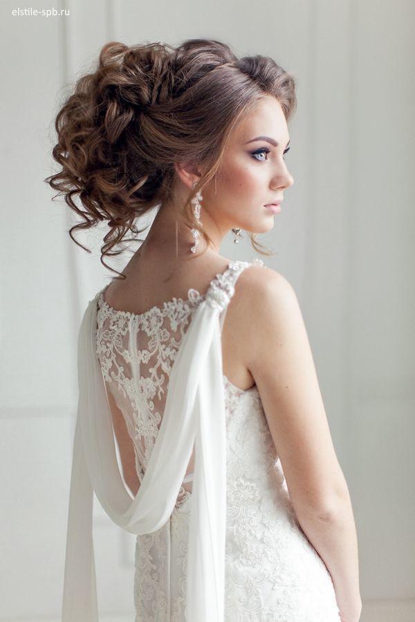 Peinados recogidos con vestidos largos