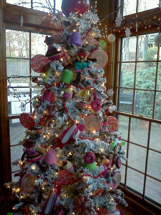 candyland christmas door decorations