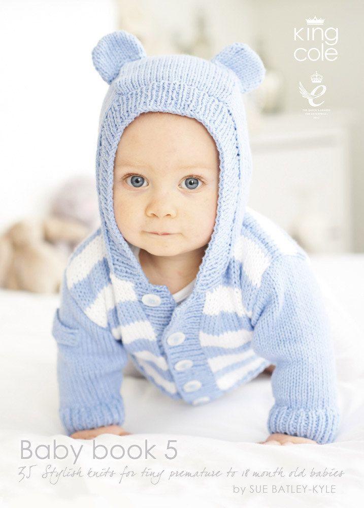 King Cole Baby Book Five | Baby sweater sets | Ropa bebe, Bebe, Tejidos
