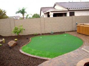 Putting Green Arizona Living Landscape Landscape Design