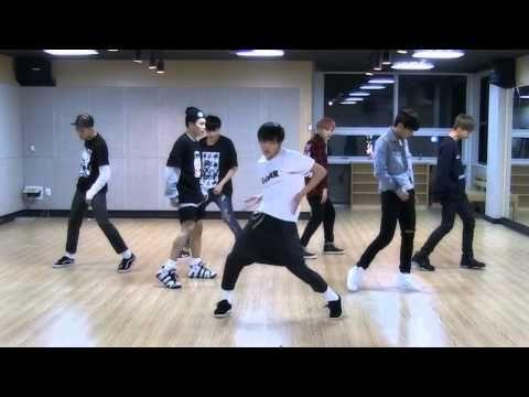 BTS 'I Need U' mirrored Dance Practice - YouTube
