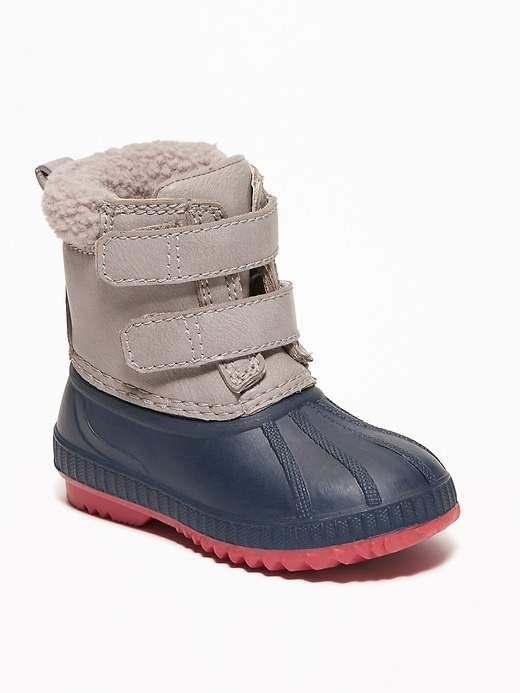 reputable site c4761 75083 Old Navy Color-Blocked Duck Boots for Toddler Boys