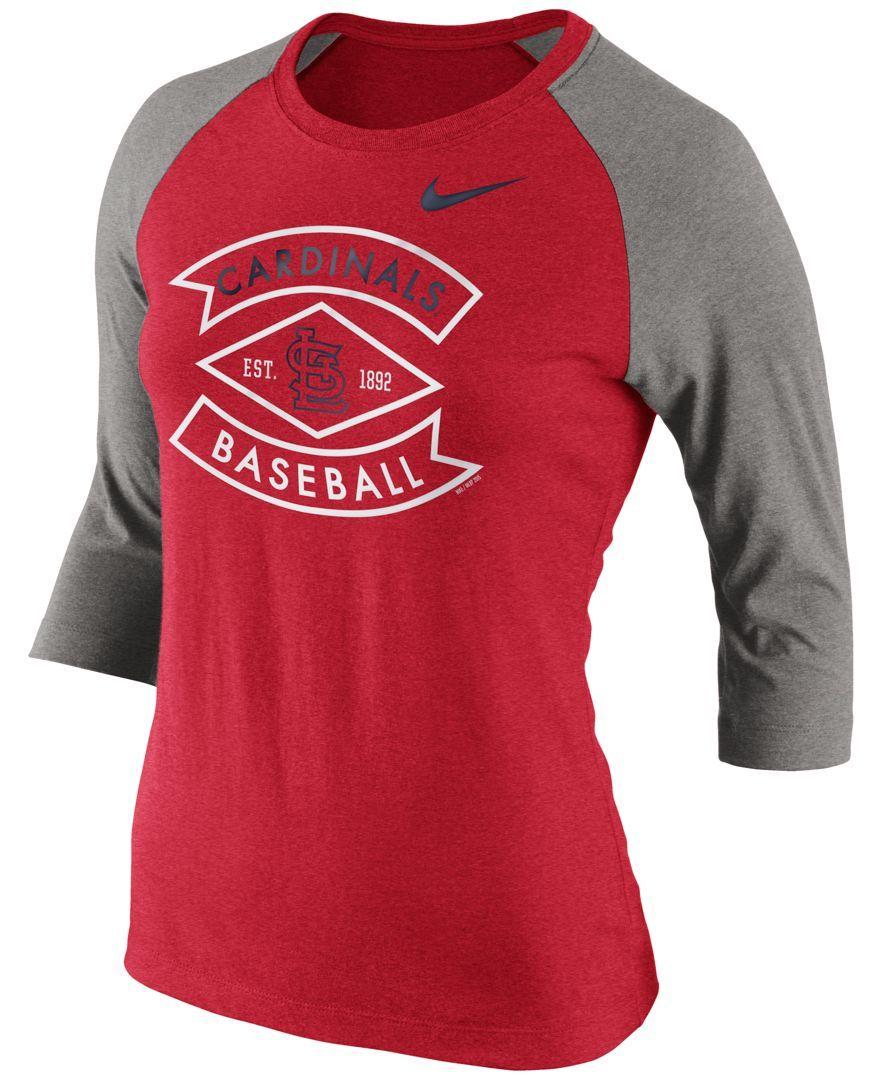 Nike Women's St. Louis Cardinals Tri-Blend T-Shirt