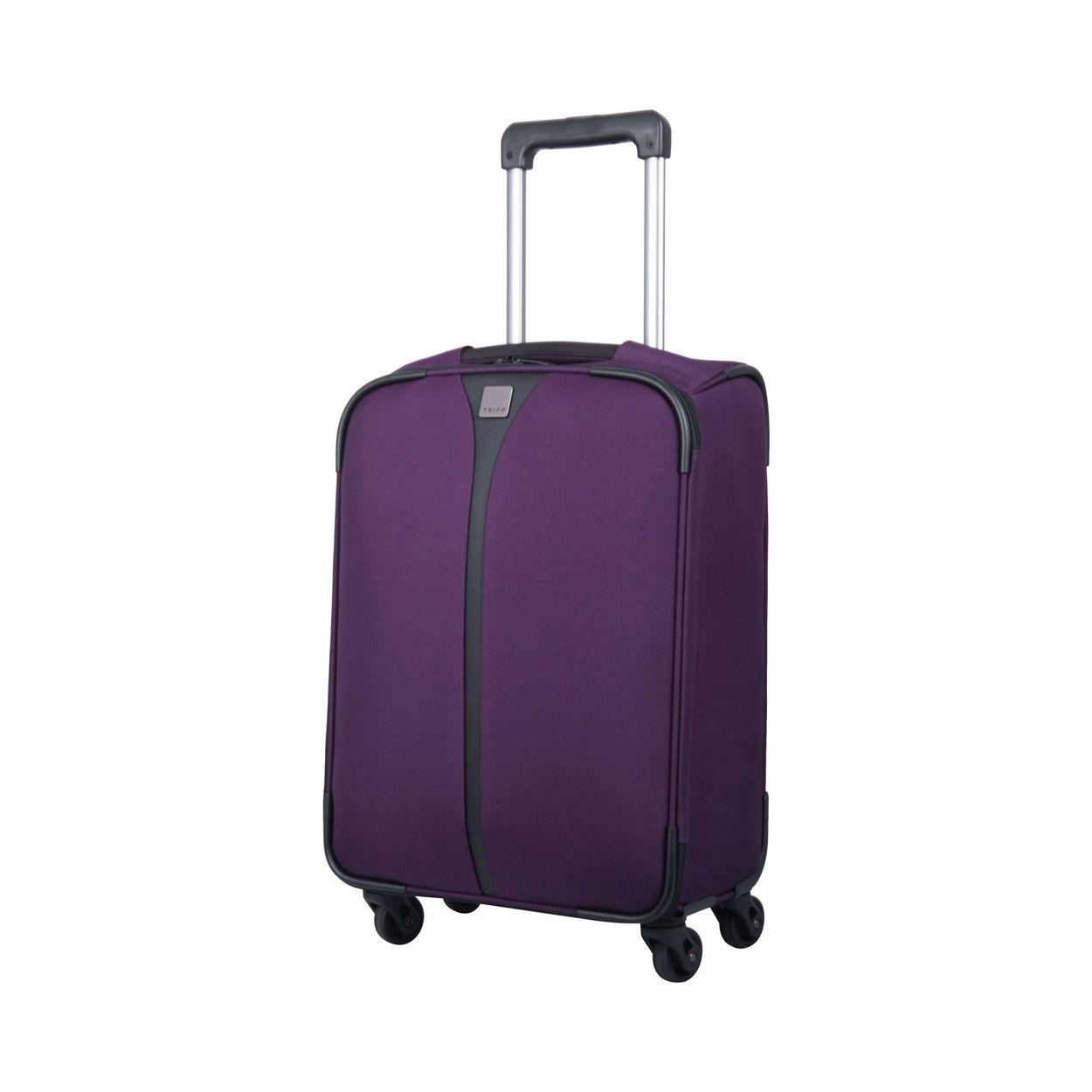 The Tripp Superlite 4-Wheel Cabin Suitcase in Cassis is Tripps ...