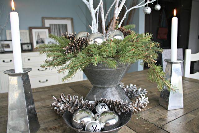 Christmas Tablescape Kerst