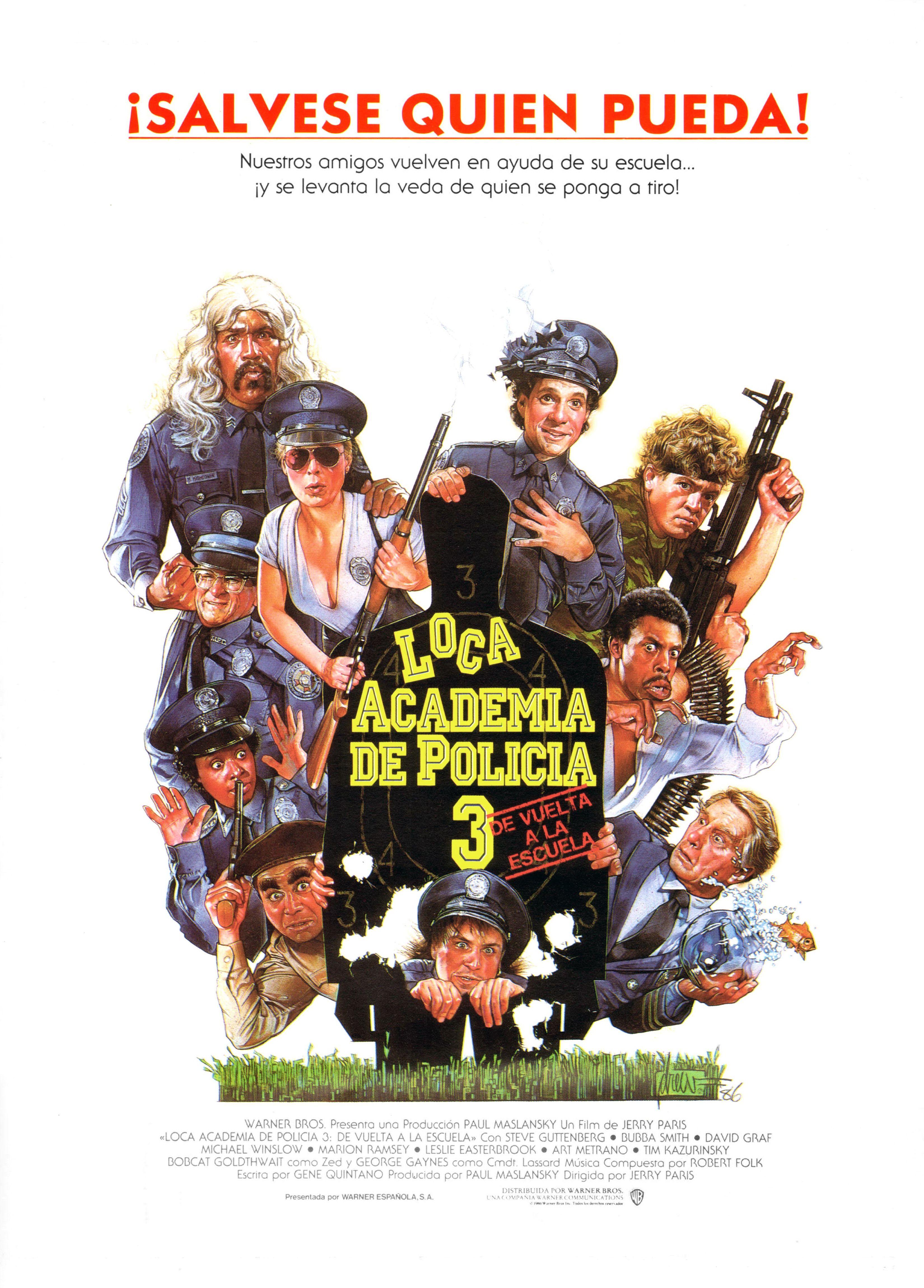 Loca academia de policía 3 De Vuelta a la Escuela - Police Academy 3 Back in