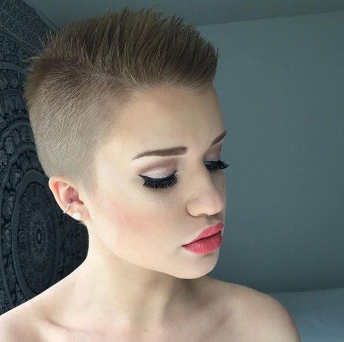 Hairstyle Womens: Pin On Buzz Cut