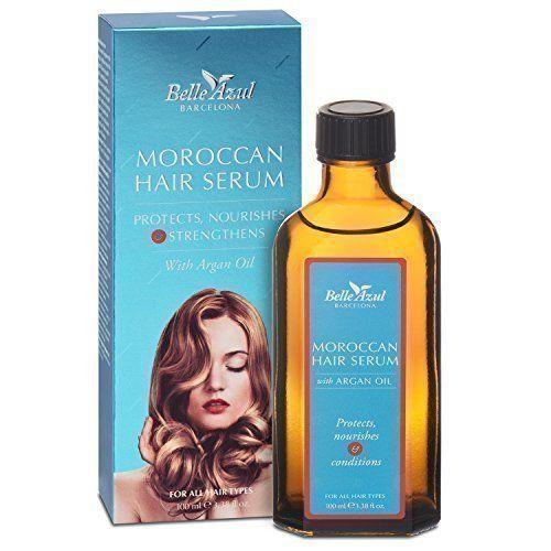 belle azul moroccan hair serum haarpflege aus spanien