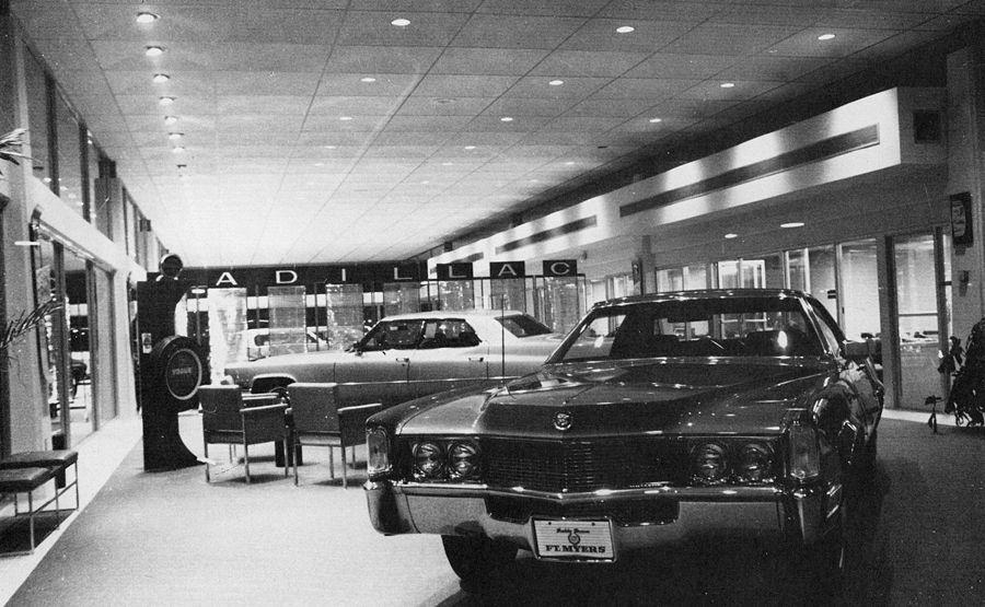 Pin On Buick Cadillac Oldsmobile Showroom