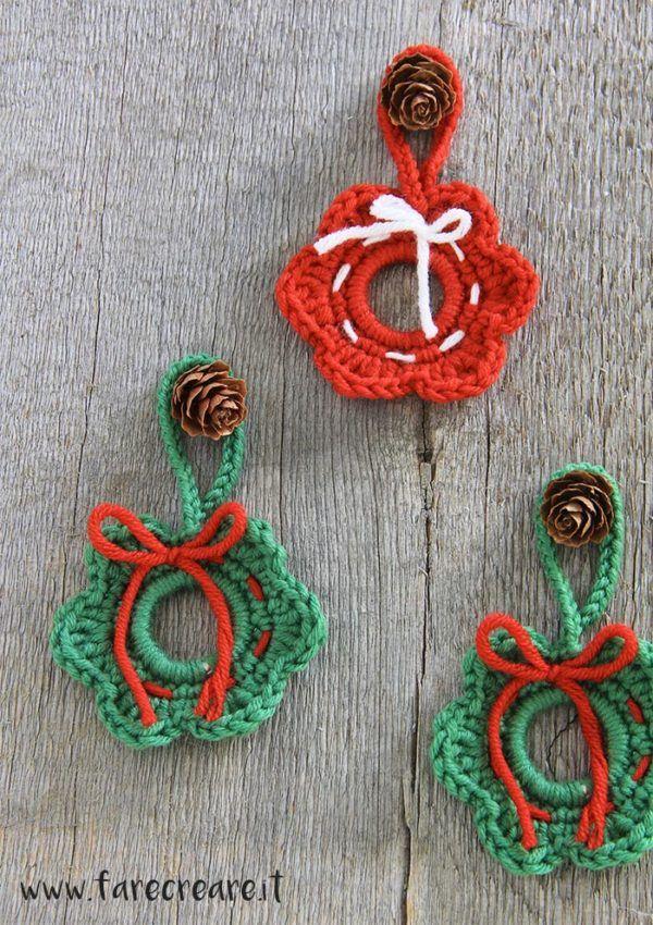 Knitting Pattern Angelo Albero Di Natale Topper Uncinetto E Lavoro A