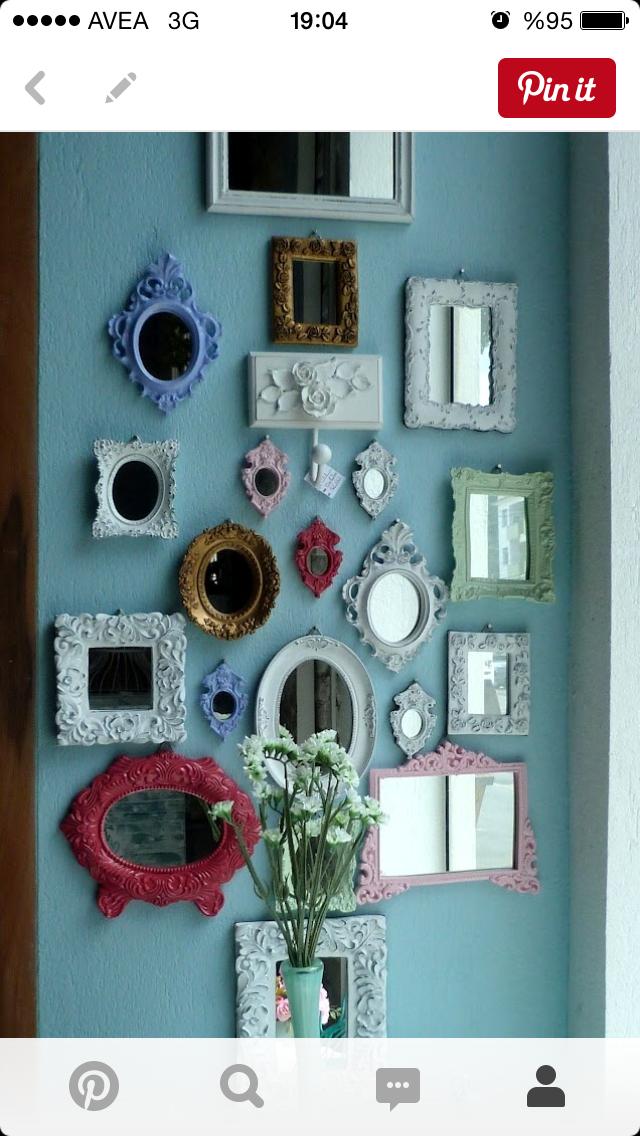 Pin de Simbul en Diy | Pinterest | Espejo, Cuadros decorativos y ...