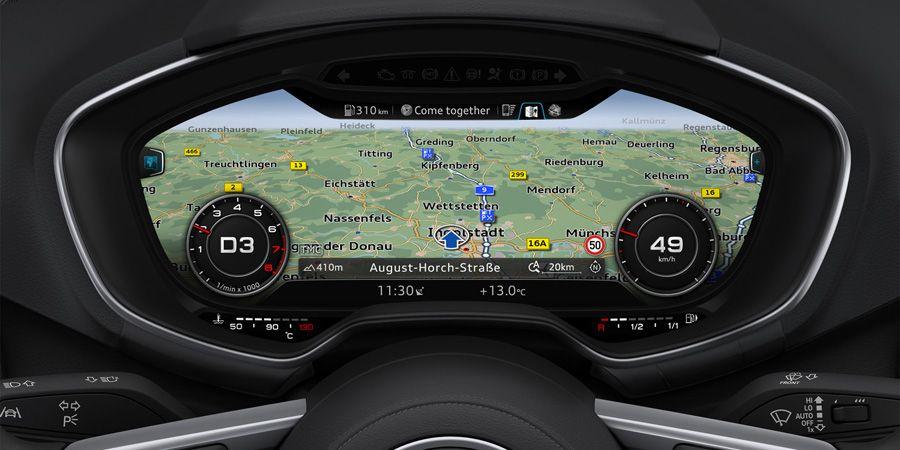 Audi virtual cockpit - Map Colors | Car UI | Pinterest | Maps ... | {Auto cockpit audi 54}