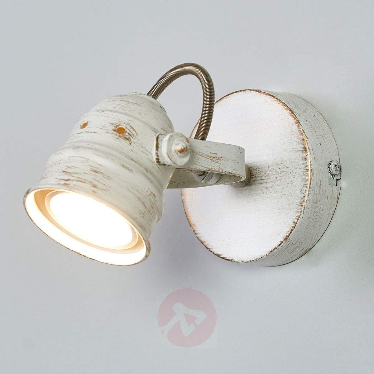Weißer Led Spot Leonor Mit Gu10 Lampe Led Spots Led