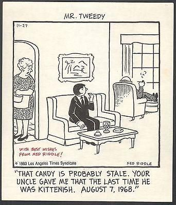 Comic strip mr tweedy