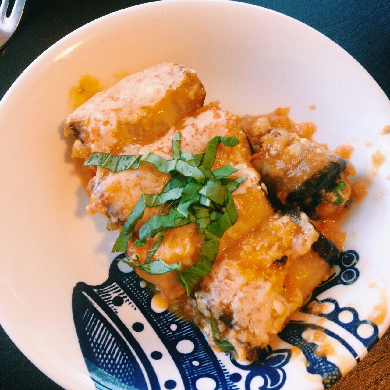 Meatless Monday Eggplant Involtini | Hard Parade blog