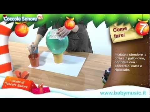 Salvadanaio di Babbo Natale - Tutorial per bambini di Coccole Sonore