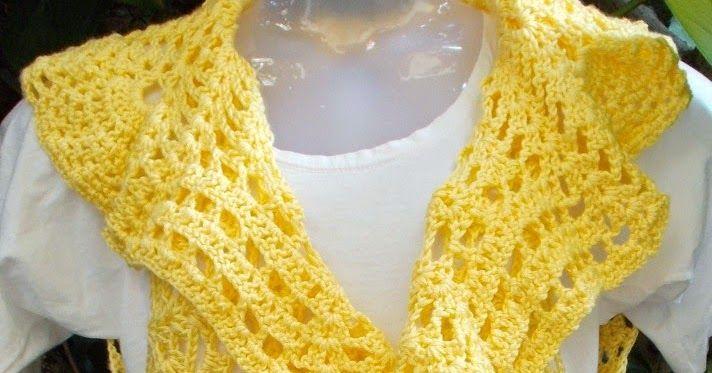 Sweet Nothings Crochet One Piece Pineapple Bolero Free Crochet