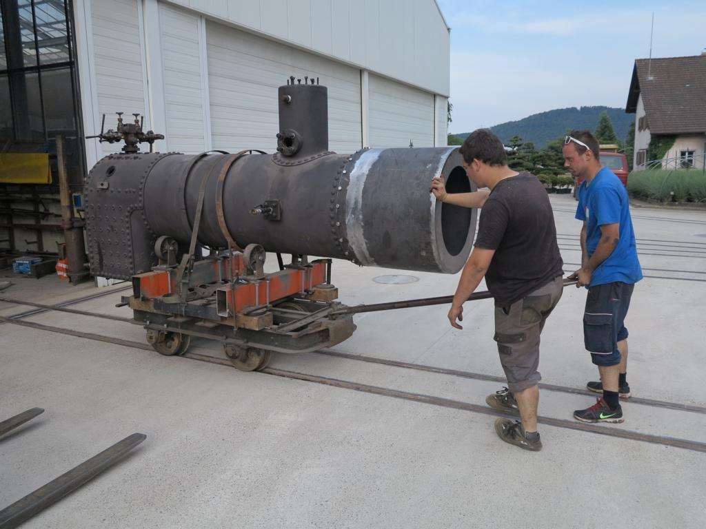 Dampfbetrieb auf 600mm von Mitte April - Mitte Oktober   Verein Schinznacher…