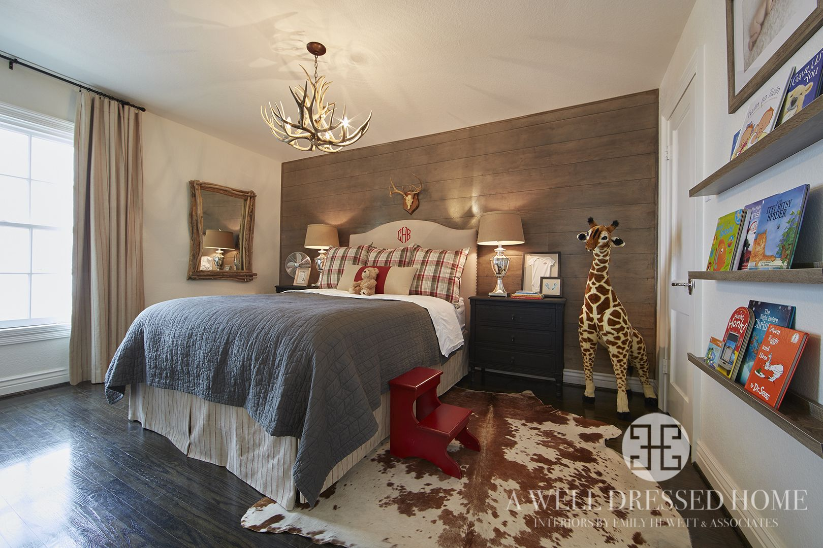 Boy\'s Bedroom by A Well Dressed Home, LLC. To read more about this ...