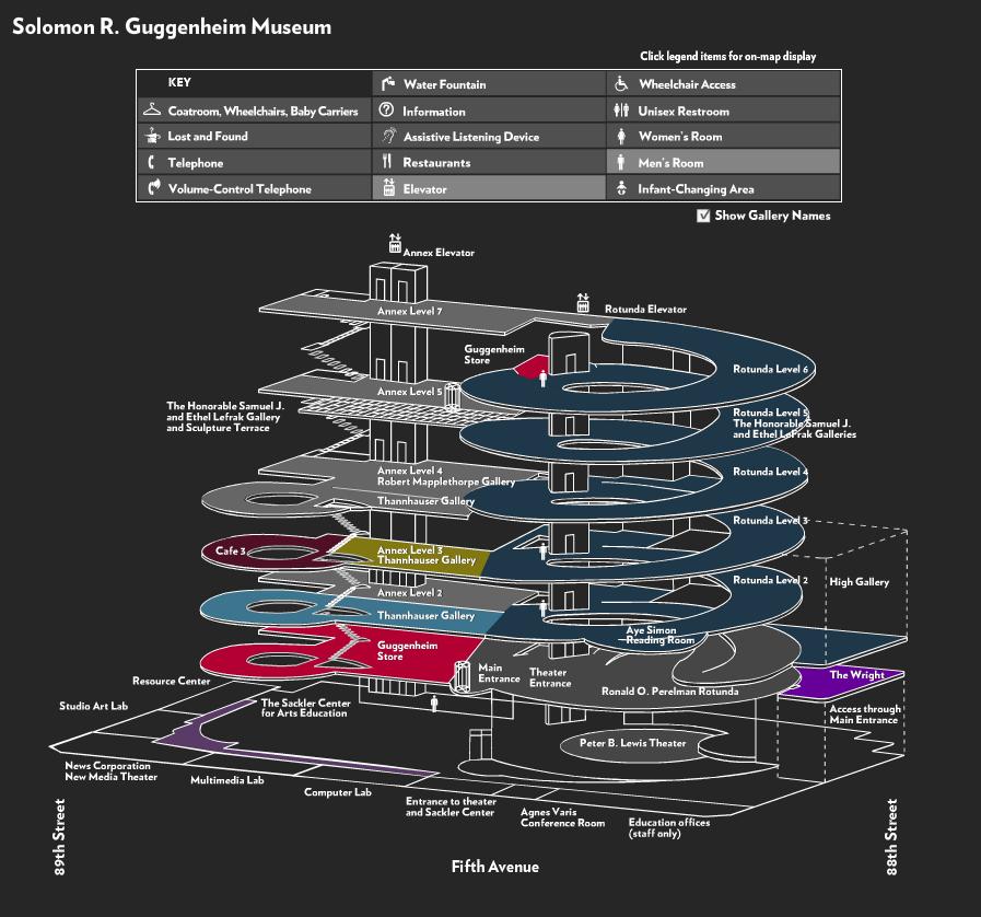 Guggenheim Interactive Map Museum Flooring Guggenheim Museum