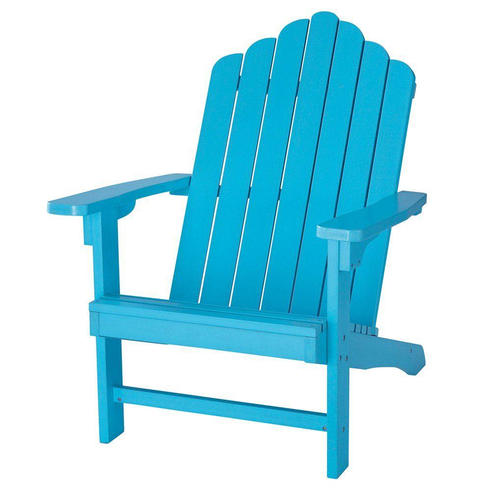 Fauteuil de jardin bleu ciel PORTLAND | Wishlist | Jardin ...