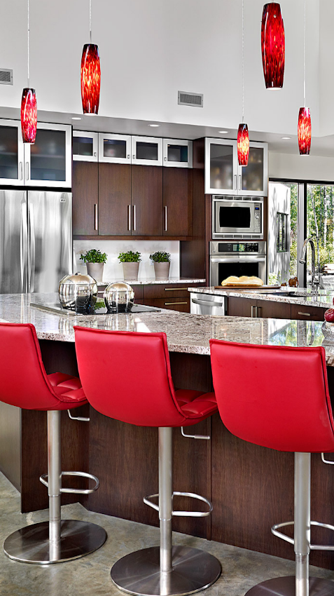 Modern Kitchen Kitchen Color Red Modern Kitchen Cabinet Design Red Kitchen