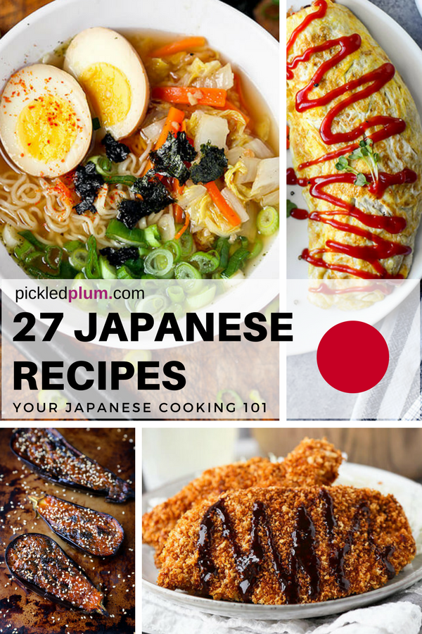 43 Easy Japanese Recipes You Can Make At Home Pickled Plum Food And Drinks Easy Japanese Recipes Healthy Asian Dinner Asian Dinner Recipes