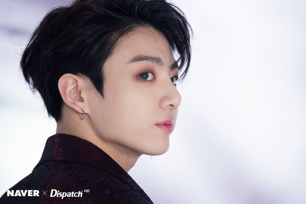 Boy hairstyle full hd fake love naver x dispatch jungkook  armyus bts  pinterest  bts