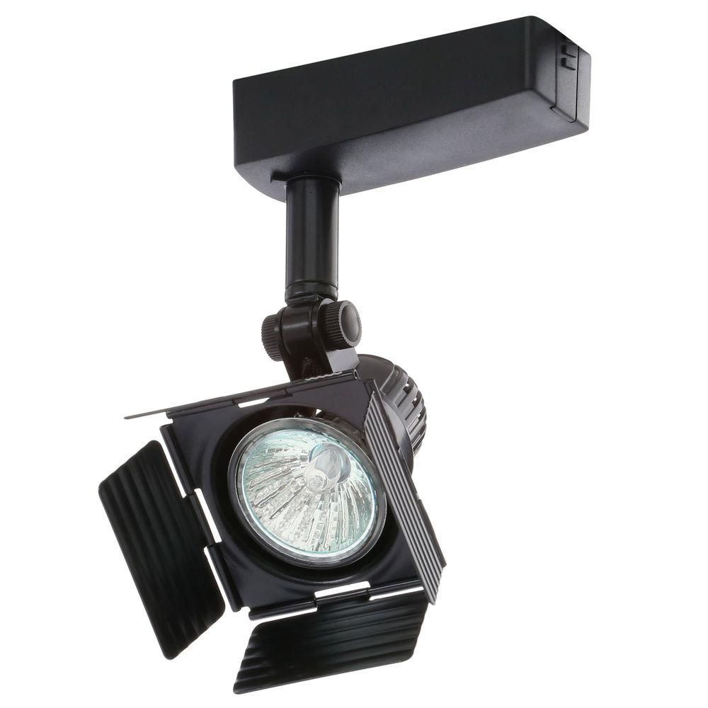 Juno Trac Lites Low Voltage Black Light With Barn Doors Products
